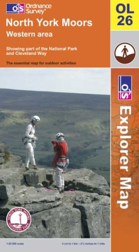 OS Explorer map OL26 : North York Moors