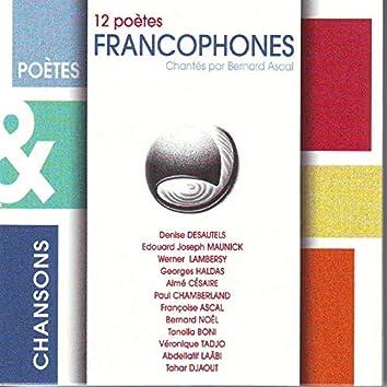 12 poètes francophones (Poètes & chansons)