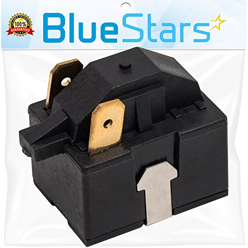 Ultra Durable 6748C-0004D Refrigerator Start Relay DIRECT Replacement For OEM Part by Blue Stars - Exact Fit For LG & Kenmore Refrigerators - Replaces 6749C-0014E PS9865140 AP5949339