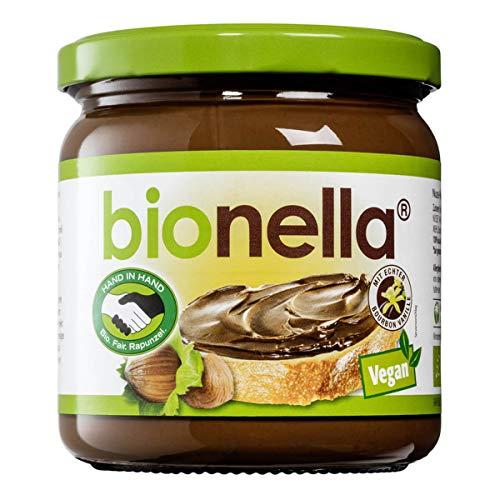 Rapunzel Bio bionella Nuss-Nougat-Creme vegan HIH (2 x 400 gr)