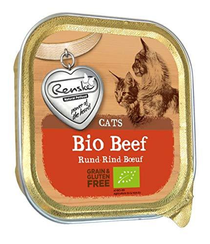 Renske kat graanvrij biologisch rund kattenvoer 85 GR