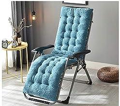 YLLN Recliner Cushion Back Cushion Seat Cushion Garden Chair Cushion High Back Cushion with Ties Chair Pads for Garden Cha...