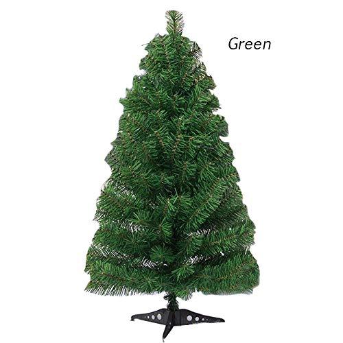 Lievevt Árbol de Navidad Artificial, Mini Árbol de Navidad con Base Durable. Decoración Navidad, decoración del...