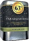 63 Grad - Paradieskörner - Guineapfeffer angenehm scharf und herb (75g)