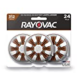 Best 312 Hearing Aid Batteries - Rayovac Hearing Aid Batteries Size 312 for Advanced Review