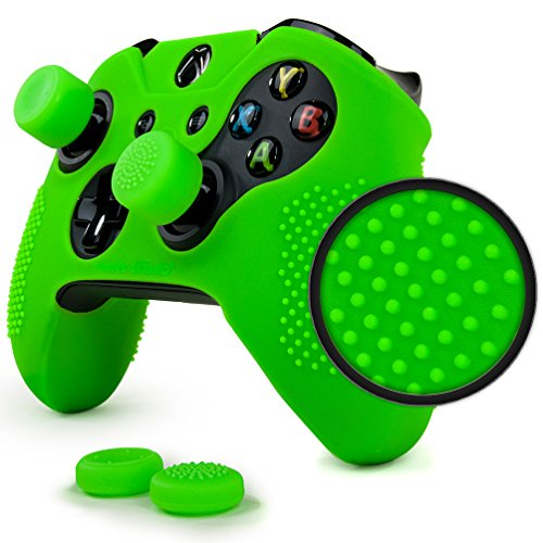 ParticleGrip Studded Skin Set for Xbox One (& One S) by Foamy Lizard – Patent Pending Silicone...