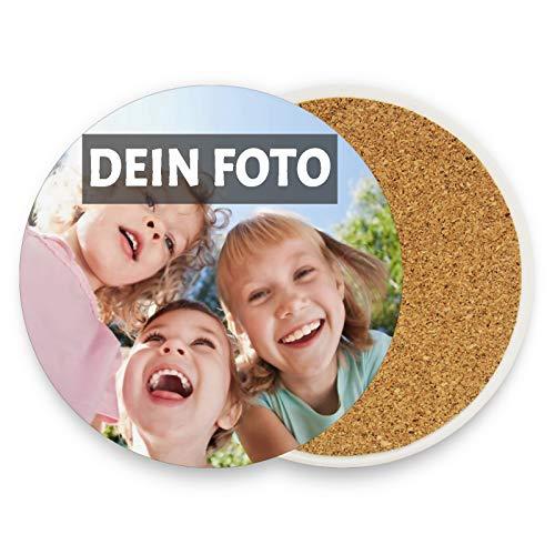 Personalisierte Foto Untersetzer, trinken Tee Kaffeematten, angepasst mit Ihrem Bild Foto Text Logo, personalisiertes Foto-Geschenk für Freunde der Familie Geburtstag Muttertag Osterferien 3.9''x3.9''