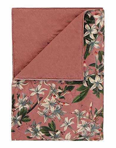ESSENZA sprei Verano I bloemen bloemen I polyester I omkeerbare look