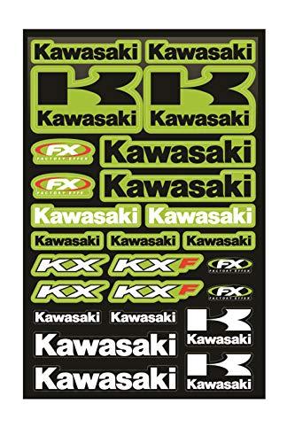 Kit Pegatinas ADESIVI Kawasaki KX KXF PATROCINADOR Moto