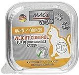 Mac's Katzenfutter getreidefrei Vetcare Huhn Weight Control, 16 x 100 g