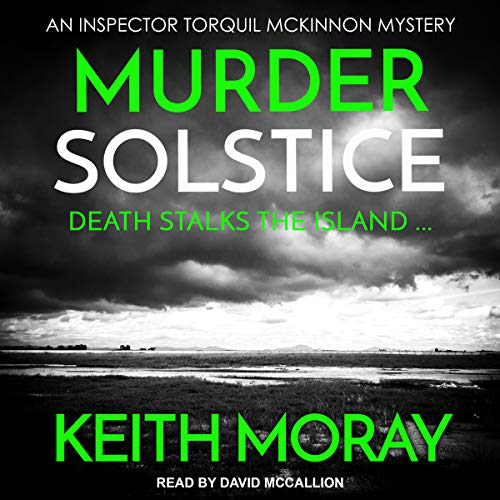 Murder Solstice: Death Stalks the Island… audiobook cover art