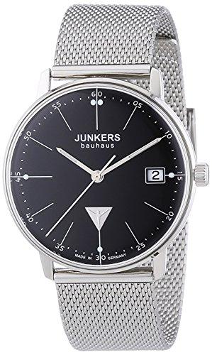 Junkers Damen-Armbanduhr XS Bauhaus Analog Quarz Edelstahl 6071M2