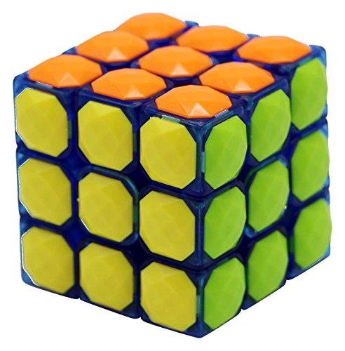 Little Treasures Gem Style Tile Puzzle Cube Multi Colored