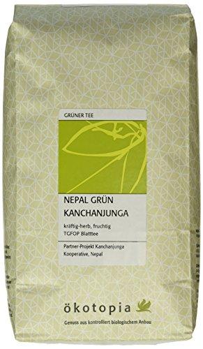 Ökotopia Grüner Tee Nepal Kanchanjunga, 1er Pack (1 x 500 g)
