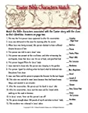 Bible Characters Printable Easter Trivia Game for Mac [Download]