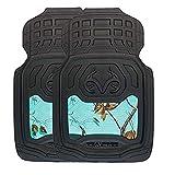 Realtree Camo 2-pc Front Camo Floor Mats, Truck Floor Mats, Timber, Xtra and Mint Camo (Mint Camo)