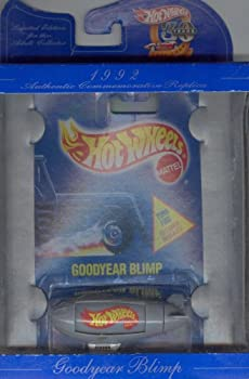 Hot Wheels 30 years AUTHENTIC COMMEMORATIVE REPLICA limited edition 1992 gray GOODYEAR BLIMP 1 64 Scale Die-cast Collectible Car