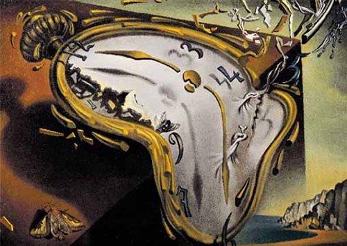 Editions Ricordi 6001N33003- Puzzle de 2000 Piezas del Cuadro Los Relojes Blandos de Dalí