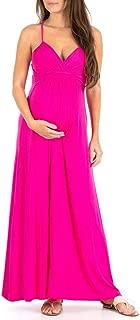 pregnant in a dress