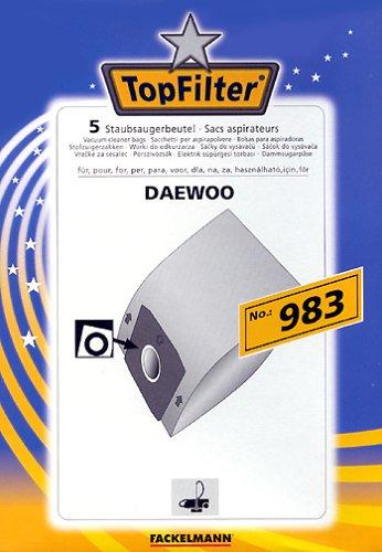 FACKELMANN Top Filter 5 Staubsaugerbeutel Nr. 983
