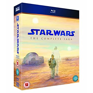 Star Wars: The Complete Saga (9-Disc Collection) [Blu-ray]
