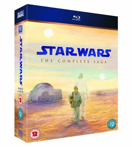 Star Wars: The Complete Saga (9 Blu-Ray) [Edizione: Regno Unito] [Reino Unido] [Blu-ray]