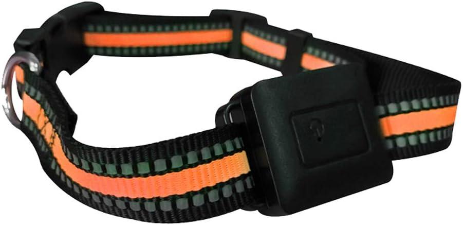 ZhHaoXin Pet Localizador De Mascotas GPS, WiFi + Lbs Posicionamiento Preciso con Una Precisión De 10-20 Metros. El Volumen Es Pequeño Y Fácil De Usar. Permitir Que Su Mascota Corra Libremente, Black