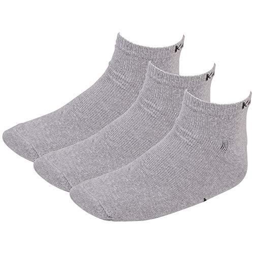 Kappa SONOR Socken, 3er Pack, 19M grey melange, 39/42