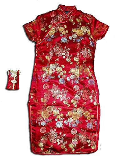 Cinda Chicas de Raso Vestido de China