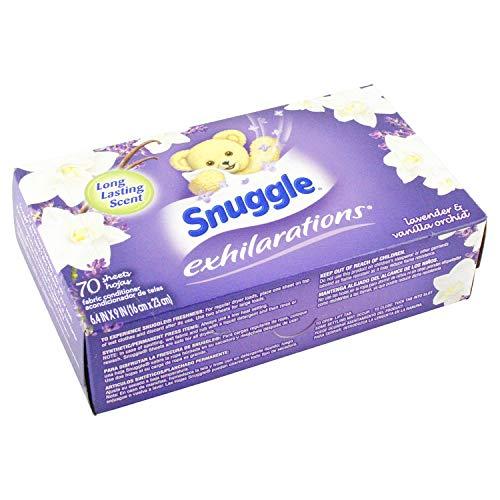 SunProducts(サンプロダクツ)『Snuggle(スナッグル)シート柔軟剤EXラベンダー&バニラオーキッド』