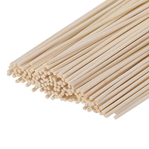 Senkary 150 Pieces Reed Diffuser Sticks 9.45 inches Wood Rattan Reed Sticks Fragrance Essential Oil Aroma Diffuser Sticks