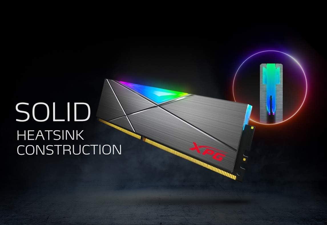 XPG SPECTRIX D50 RGB Gaming Memory: 16GB (2x8GB) DDR4 3200MHz CL16 Grey at Amazon.com