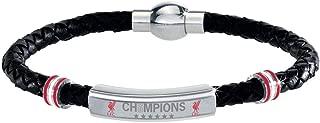 liverpool leather bracelet