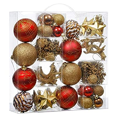 Amazon Com Farmhouse Christmas Decorations For Tree