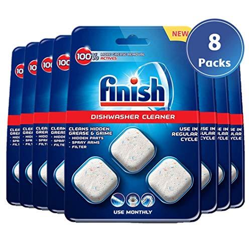 Finish Spülmaschinen-Reiniger 8er Pack
