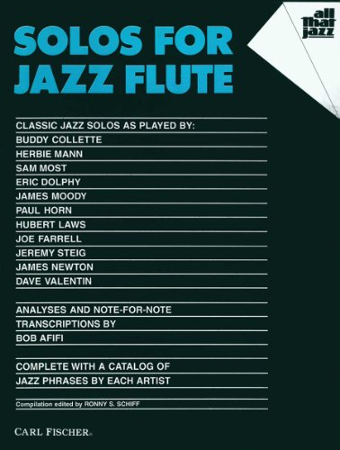 ATJ307 - Solos for Jazz Flute (All That Jazz Series) (FLUTE TRAVERSIE)