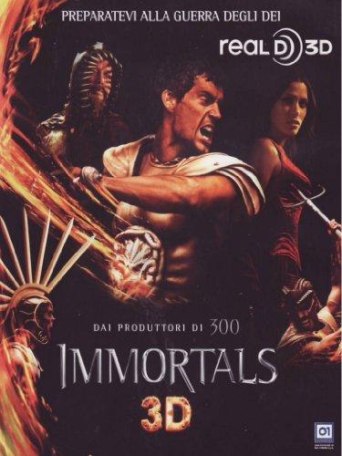 Immortals 3D (2D + 3D anaglyph) (2 DVD)