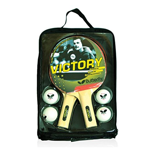 Butterfly Table Tennis Racket and Ball Sets - Includes ITTF Approved Ping Pong...