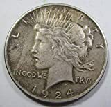 1924 Peace Dollar Extremely Fine