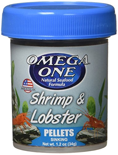 OMEGA One Shrimp & Lobster Pellet, 1.2oz, Yellow