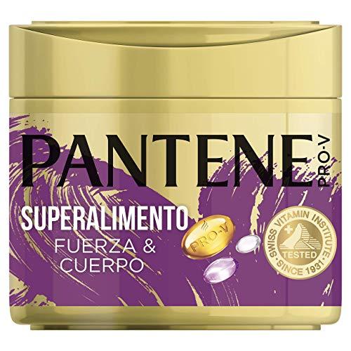 Pantene Pro-V Superalimento Fuerza&Cuerpo, Mascarilla Capilar de Quera