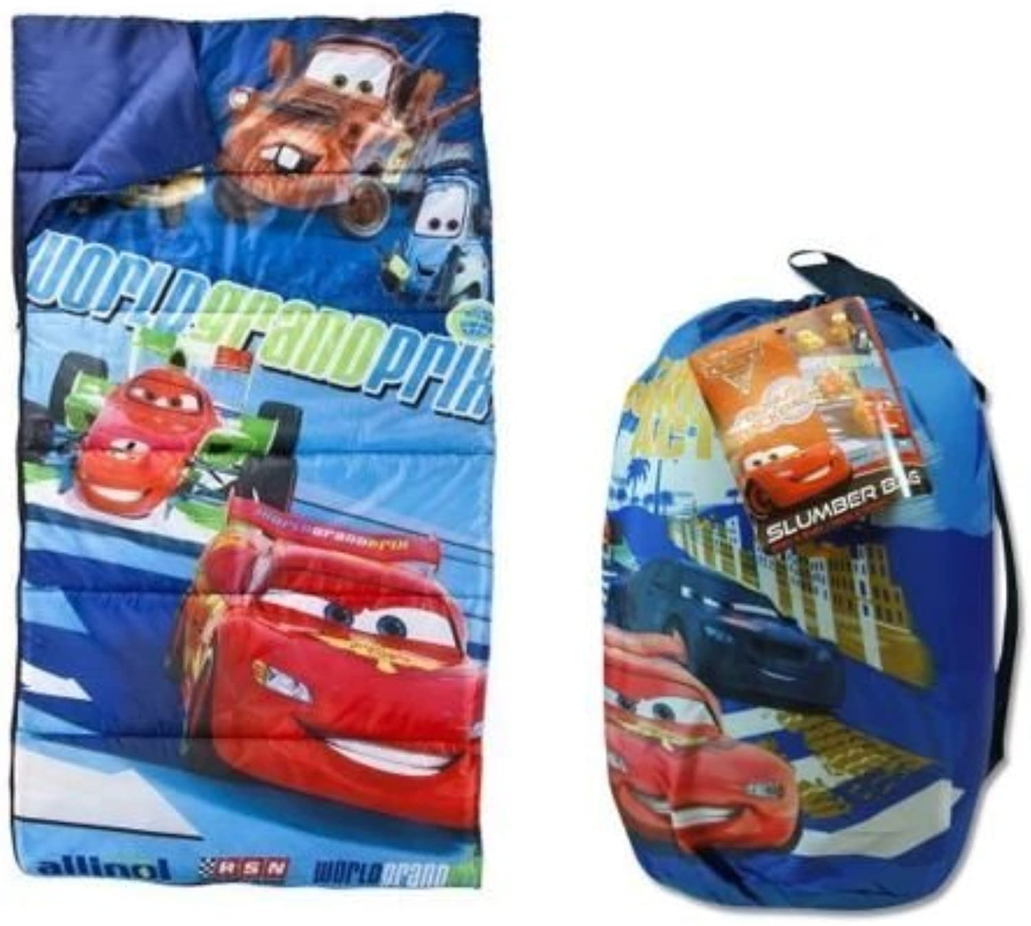Disney Cars 2Mater Grand Prix Sleeping Slumber Bag by Disney