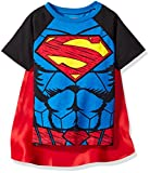 Warner Bros. Toddler Boys Superman Cape T-Shirt Set Blue 4T