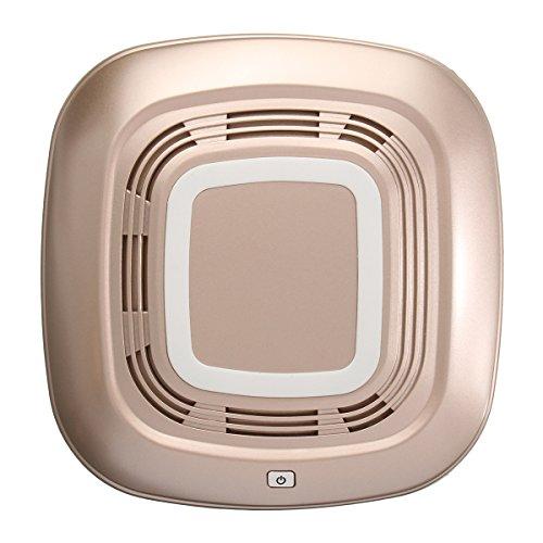 GOZAR C25 auto verse luchtreiniger Qi draadloos/bedrade telefoon lader zuurstof Ionic bar PM 2.5