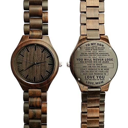 Relojes De Mano De Madera  marca LOVE IN HEART