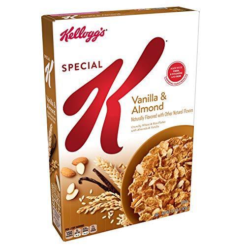Special K Breakfast Cereal, Vanilla & Almond, 12.9 Oz