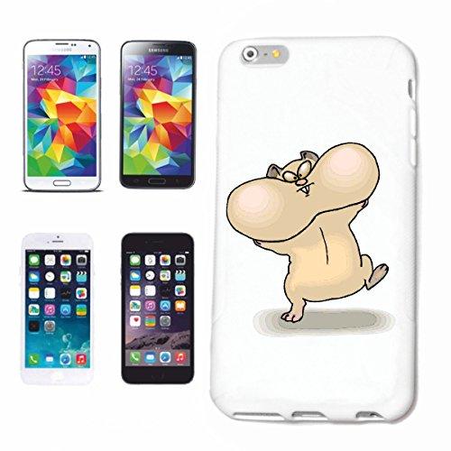 Funda para teléfono móvil compatible con Samsung Galaxy S4 Mini (grosor), diseño de hámster