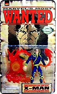 Marvels Most Wanted > X-Man Action Figure