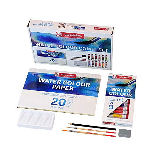 Talens Art Creation Watercolour Combiset 12x12ml - Art Supplies