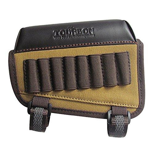 Tourbon Caza Pistola Buttstock Mejilla Resto Almohadilla Rifle MuniciÓN Soporte - Canvas...